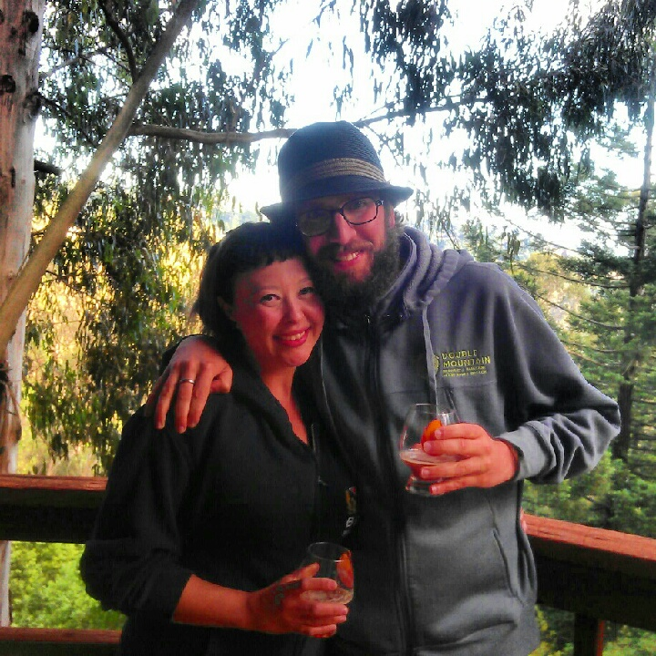 Rockin out in the Oakland Hills with Rebecca from Beer Revolution on my birthday