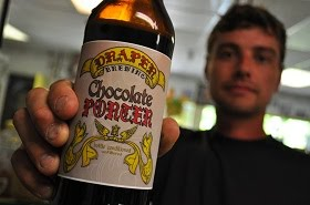 Sam Draper Eslinger of Draper Brewing