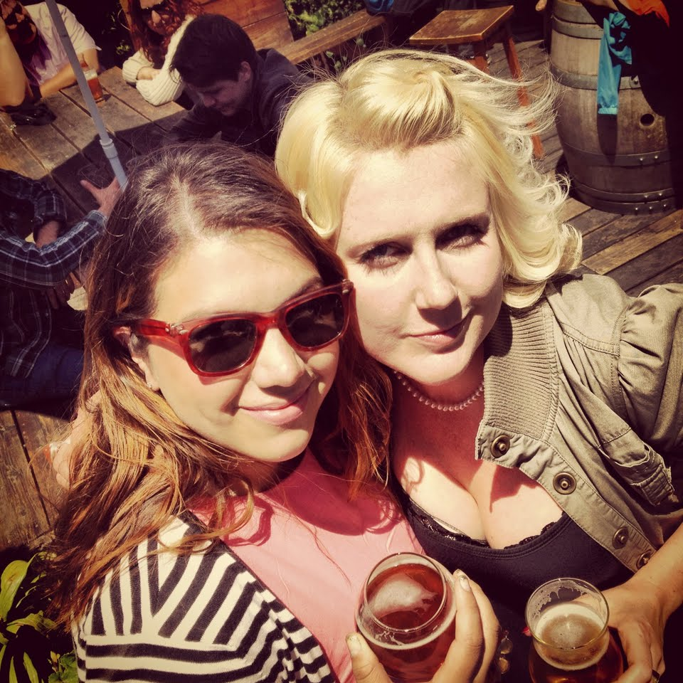 Tatiana Peavy and Ashley Routson at Beer Revolution