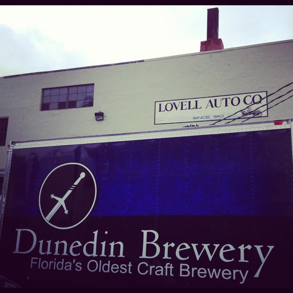 Dunedin Brewery of Florida visits Fort George in Astoria, Oregon