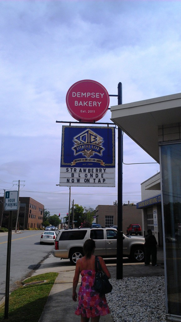 Dempsey Bakery, adjacent to Diamond Bear Brewing