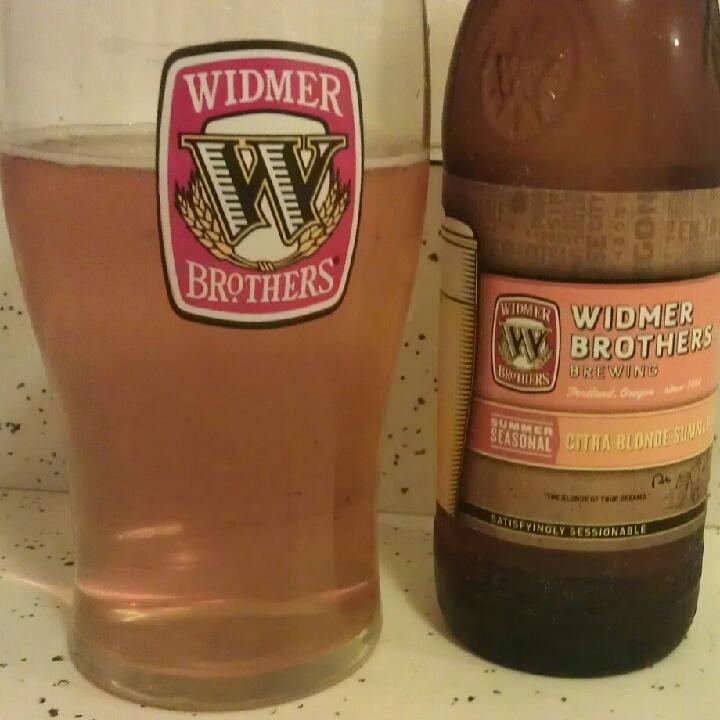 Widmer Citra Blonde Summer Brew