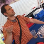Anthem Cider co-owner James Kohn at the 2012 North American Organic Brewers Fest (NAOBF)
