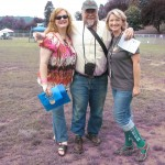 "L to R: Lisa ""Beer Goddess"" Morrison, John Foyston, and Chris Crabb at 2012 NAOBF"