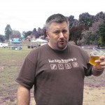 Two Kilts brewer and co-founder Chris Dillon at the 2012 NAOBF