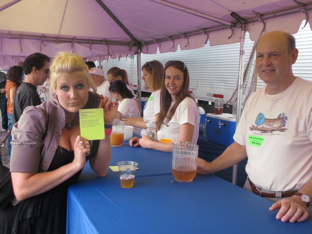 Ashley Routson from  Bison Brewing at 2012 NAOBF