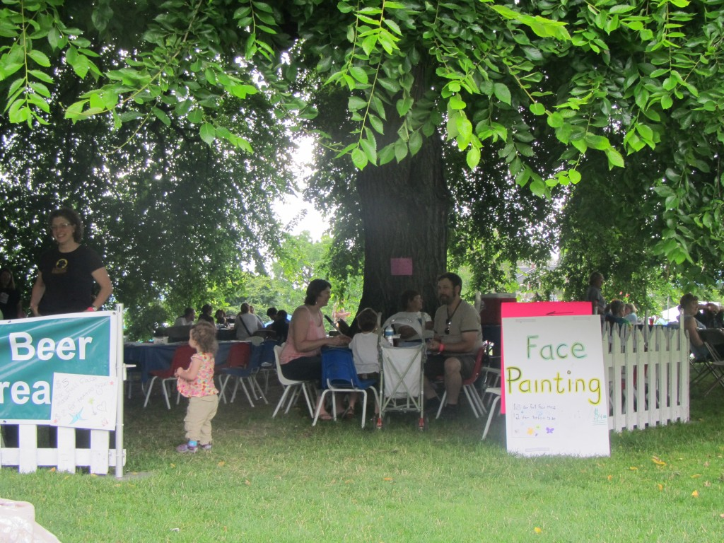 Root Beer Garden at 2012 NAOBF