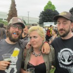 Angelo, Ashley, and Aaron at 2012 NAOBF