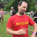 Natian founder/brewer Ian McGuinness at NAOBF