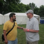 HUB Brewer Jaime Rodriguez with Brewpublic's DJ Paul at NAOBF 2012