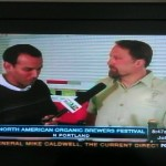 Logsdon Farmhouse Ales brewer Chuck Porter on Fox 12 KPTV before NAOBF