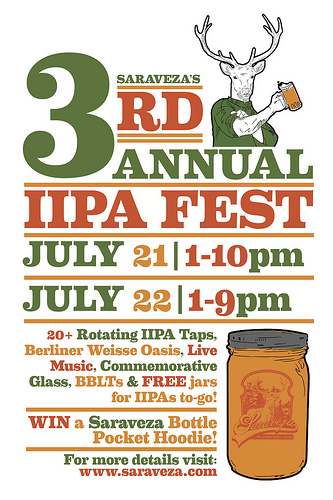 Saraveza's 3rd Annual IIPA Fest