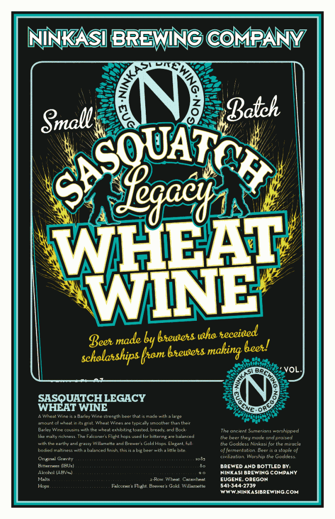 Sasquatch Legacy Project Wheat Wine