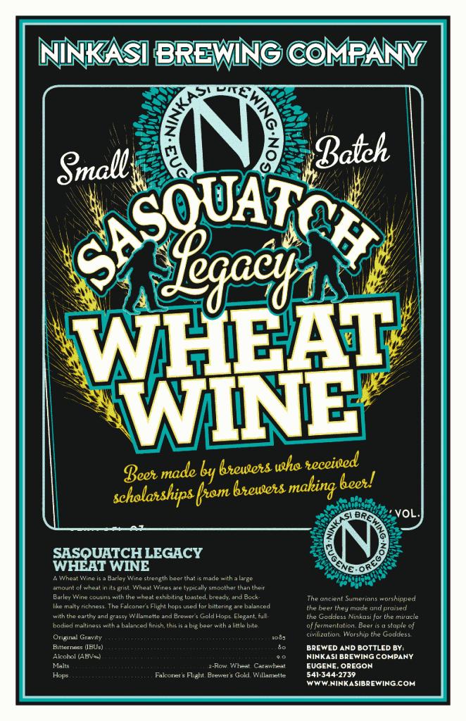 Sasquatch Legacy Project Wheat Wine