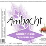 Ambacht Golden Rose Farmhouse Ale