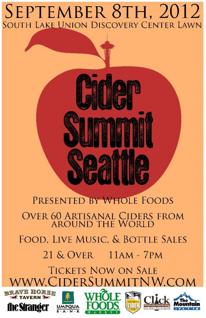 Cider Summit Seattle poster