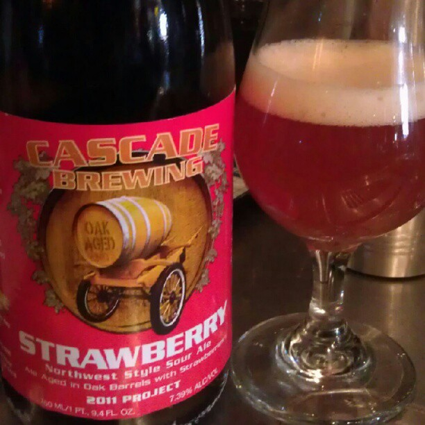 Cascade Strawberry Ale