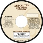 Deschutes The Dissident 2012 Reserve (necker)