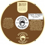 Deschutes Brewing Chasin' Freshies Fresh Hop IPA (necker)