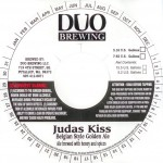 Duo Brewing Judas Kiss Belgian-style Golden