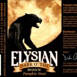 Elysian Dark O'The Moon Pumpkin Stout