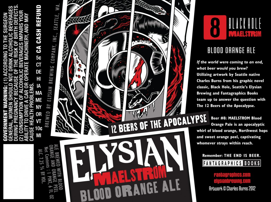 Elysian Maelstrom Blood Orange Ale