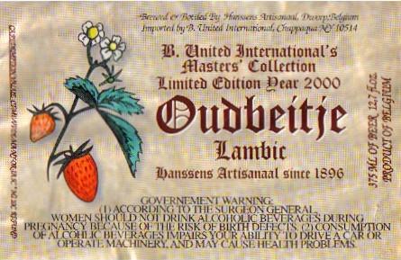Hanssens Oudbeitje Lambic