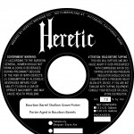 Heretic Bourbon Barrel Shallow Grave Porter (necker)