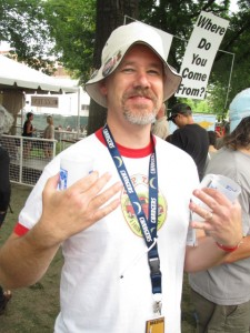 Bend beer blogger extraordinaire Jon Abernathy of Brew Site