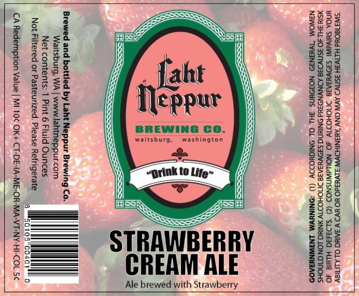 Laht Neppur Strawberry Cream Ale