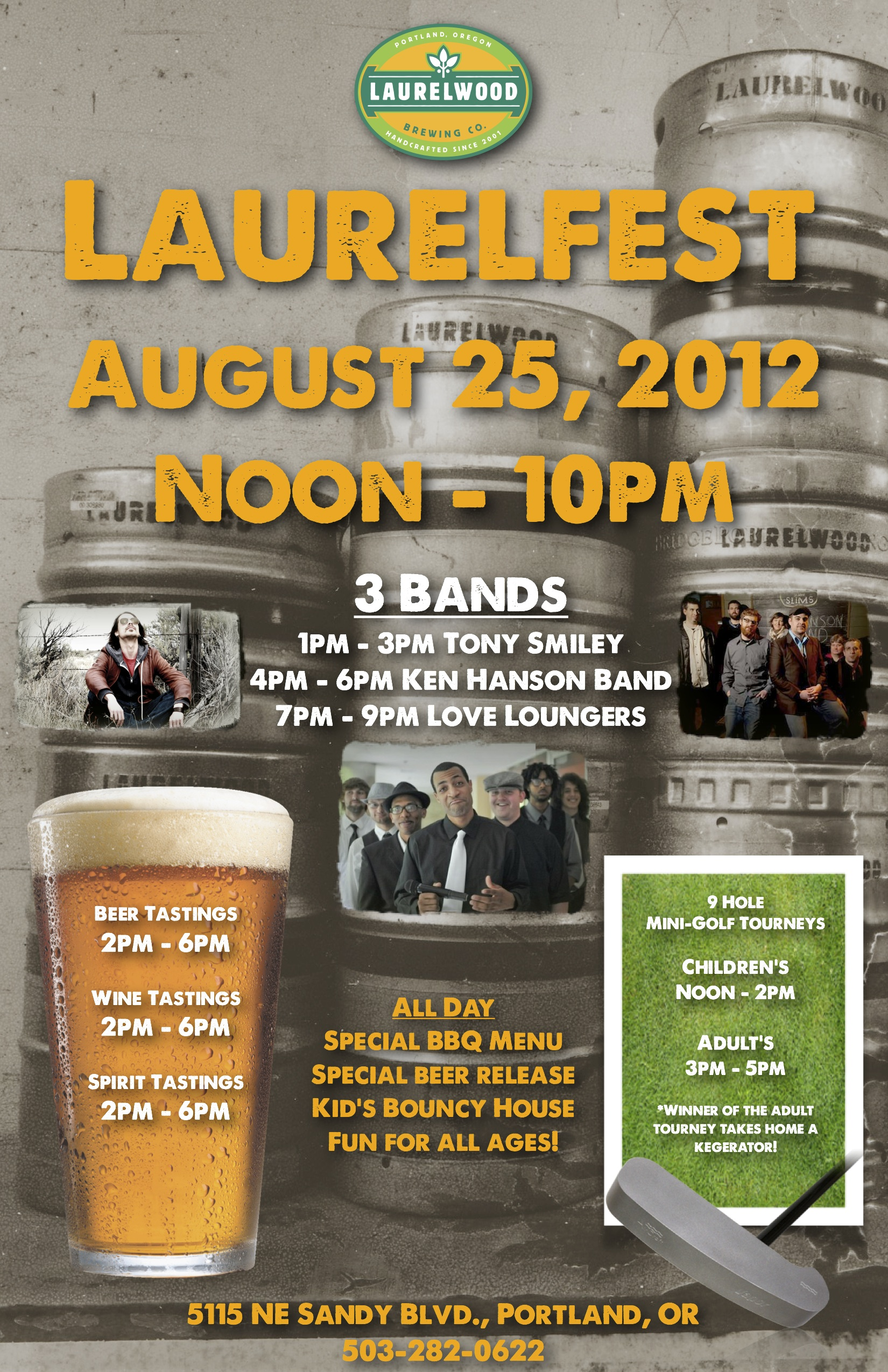 11th annual laurelfest laurelwood brewery