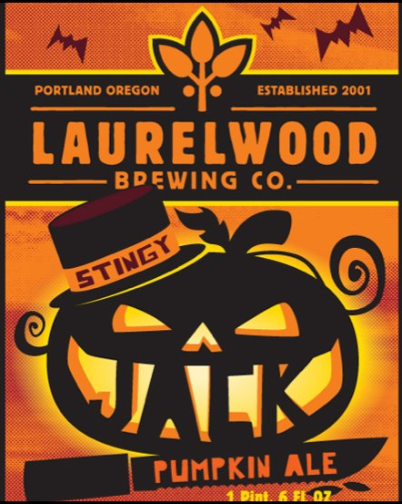 Laurelwood Stingy Jack Pumpkin Ale returns on August 22, 2012