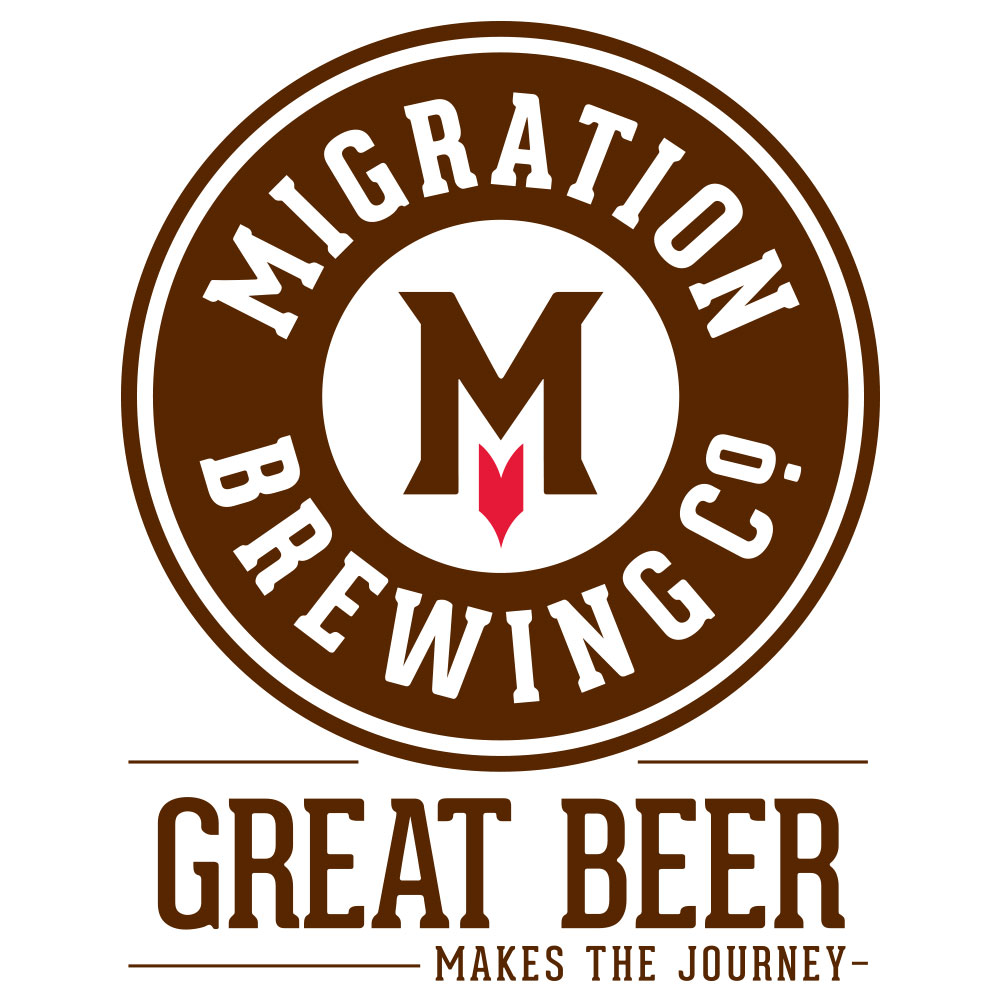 Migration Brewing's new logo