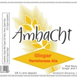 Ambacht Ginger Farmhouse Ale
