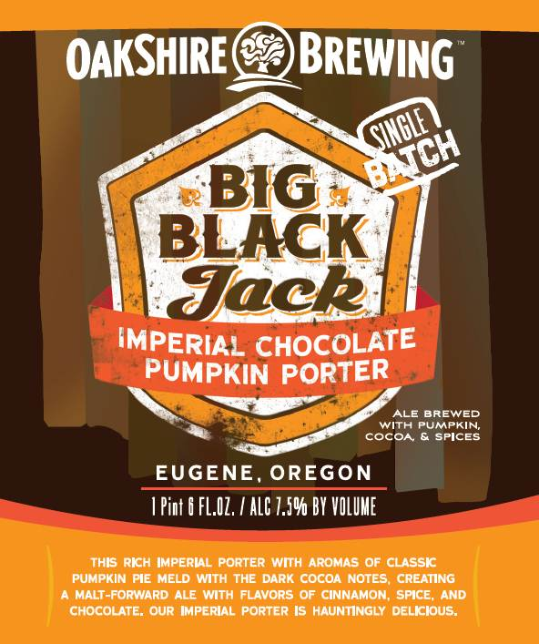 Big Black Jack Imperial Chocolate Pumpkin Porter