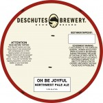 Deschutes Oh Be Joyful Northwest Pale Ale