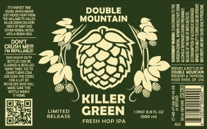 Double Mountain Killer Green Fresh Hop IPA