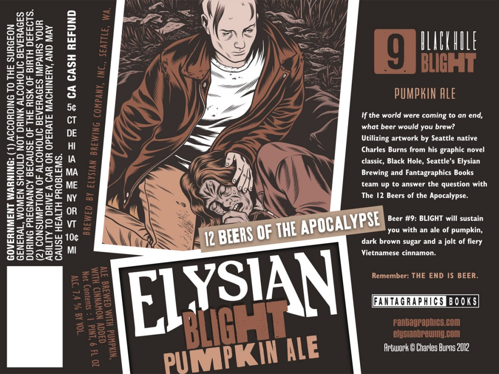 Elysian Blight Pumpkin Ale