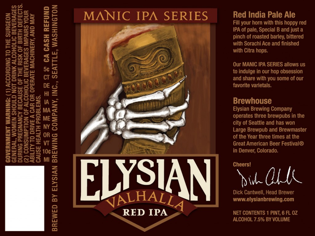 Elysian Valhalla Red IPA