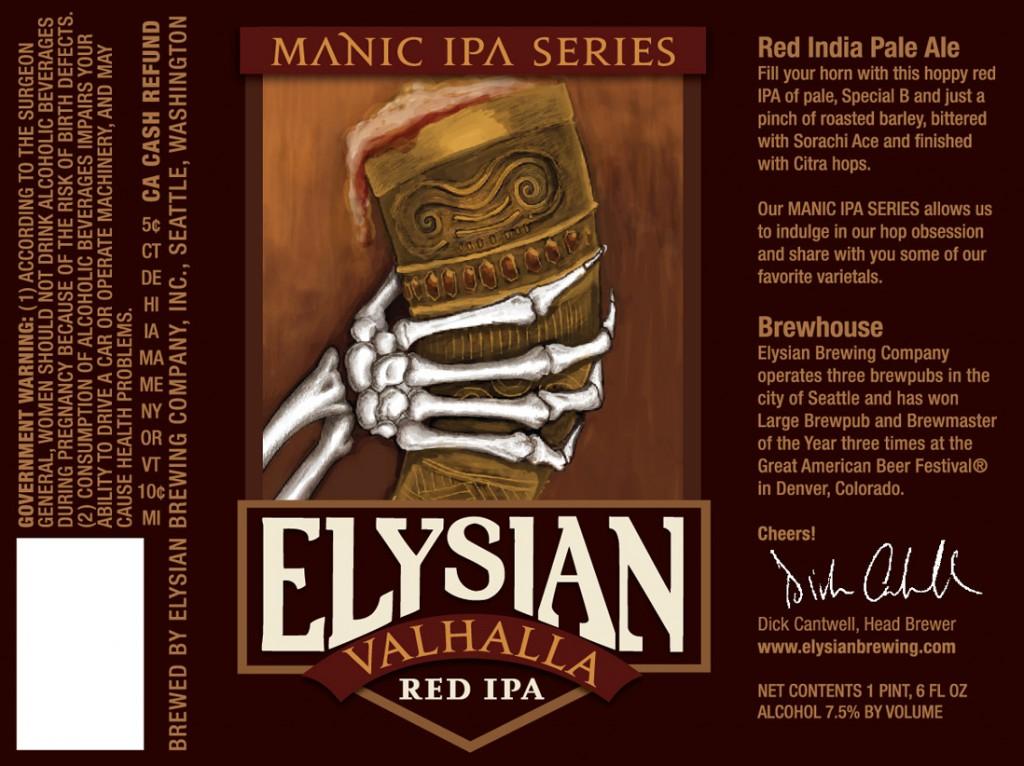 Elysian Valhalla Red IPA