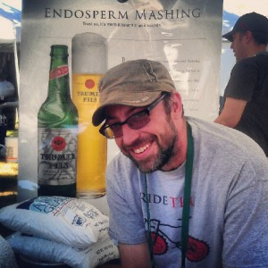 Ryan Hirscht of Trumer Pils