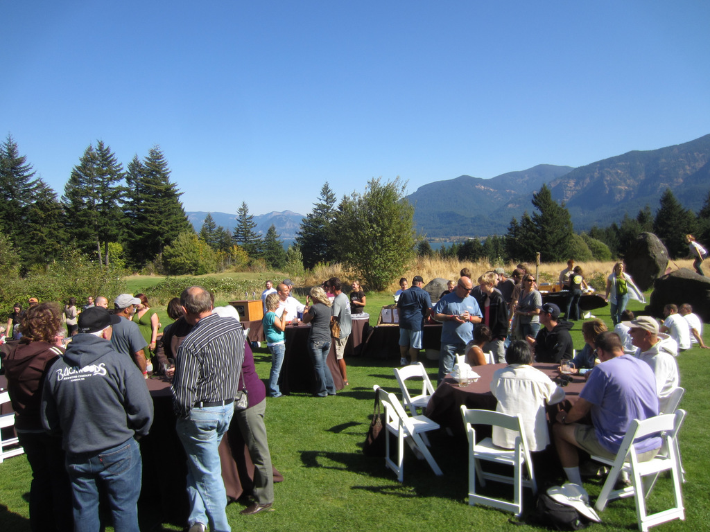 Crowd at Skamania Celebration of Beer