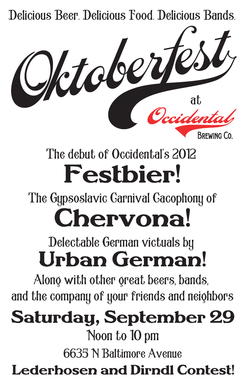 Occidental Oktoberfest 2012