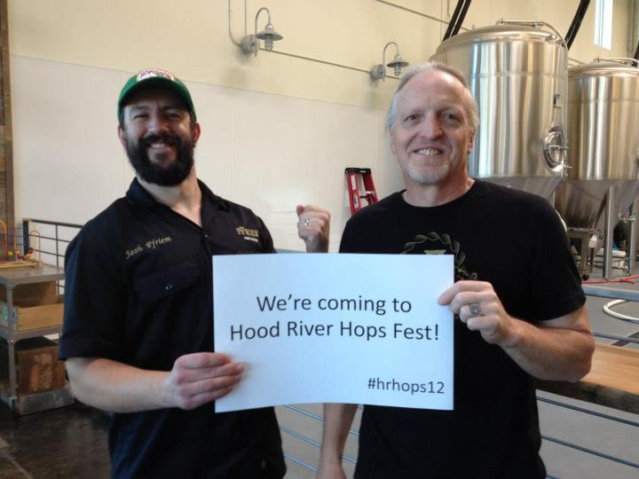 Pfriem Family Brewers will be at this year's Fresh Hop Fest in Hood River, OR