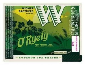 Widmer O'Ryely IPA