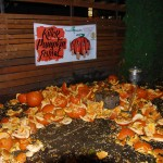 Smashed pumpkin casualties at Killer Pumpkin Fest 2012 at Green Dragon