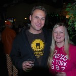 Aaron and Shannon Potter at Killer Pumpkin Fest 2012 at Green Dragon