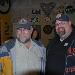 The Beer Here's John Foyston (left) and 10 Barrel Brewer Shawn Kelso at Shawn Fest