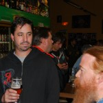 The Commons Brewery's Mike Wright (left) and Charles Culp at Sean Fest