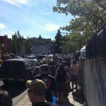 Entry Line to Hood River Hops Fest
